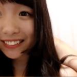 【無修正】可愛い顔からは想像できないドス黒剛毛ま◯こをクパァする元気いっぱい美少女